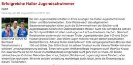 03. Aug. 2010: Haller Blatt