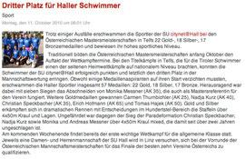 11. Okt. 2010: Haller Blatt