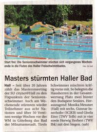 14. Juli 2010: Tiroler Tageszeitung