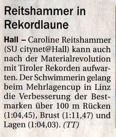 27. Jan. 2010: Tiroler Tageszeitung