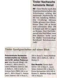 11. März 2010: Tiroler Tageszeitung