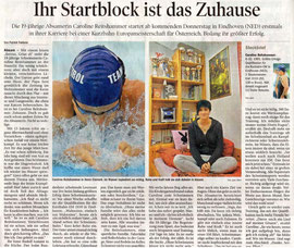 22. Nov. 2010: Tiroler Tagesblatt