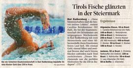 26. Juli 2010: Tiroler Tageszeitung