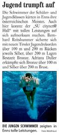 05. Aug. 2010: Tiroler Woche