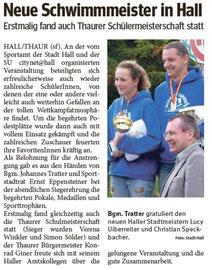 30. Juni: Bezirksblatt