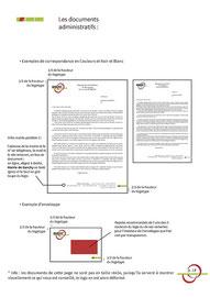 Proposition d'entêtes courriers et enveloppes pour le logo de la Mairie et Commune de Garchy