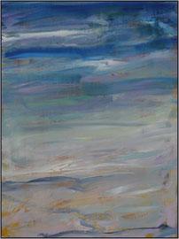 on the beach  canvas  80 cm  60 cm