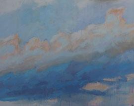 summer sky  canvas  80 cm / 100 cm