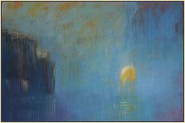 ocean sunrise  canvas  100 cm / 150 cm