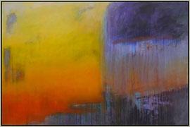 thunder at dawn  canvas 100 cm / 150 cm