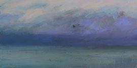 blue hour  canvas  40 cm / 80 cm