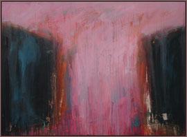 the path (pink) canvas  60 cm / 80 cm
