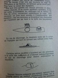MAHUZIER  Manuel du kayak, Collection de la revue Camping, éd. J. Susse, 1945