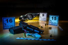 Tatort und Spurensicherung
