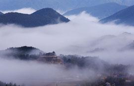 熊野の天空の城  赤木城址