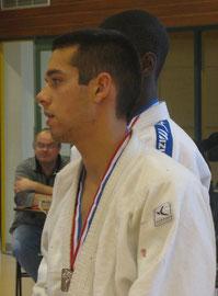 Thibault POTTIER      QN   2ème   -66 kg