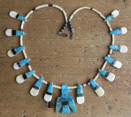 "4404 Santo Domingo necklace c.1930-50 20"" $650"