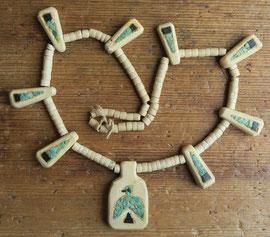 "4778 Santo Domingo necklace c.1930-50 19.5"" $850"
