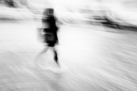 Abstraction féminine en noir et blanc ©C.Vérani 2017