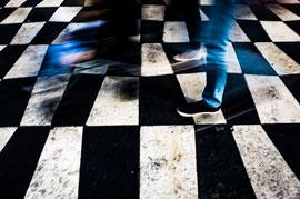 Passer sur l'échiquier de la vie ©C. Vérani 2017