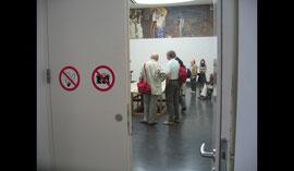 Le palais de la Sécession Salle de la Frise Beethoven de Klimt