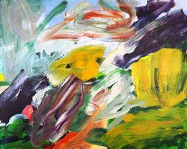Abstrakt (2014). Acryl auf Leinwand 80x100cm