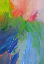 Abstrakt (2014). Acryl auf festem Papier 60x40cm