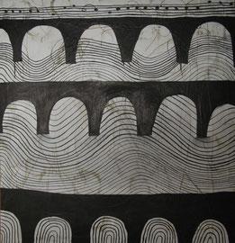 Tot in Venedig, 100 x 80 cm, auf Leinwand