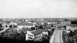 Hallesche Str. Richtung Osten / Aug. 1963