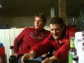 Red Devils Kuschi und Jens