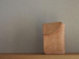 京都のバッグメーカー 革や帆布製のかばん・小物 レザーウォレット(ミツロウ)