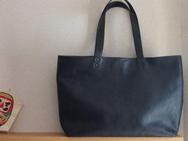 京都のバッグメーカー 革や帆布製のかばん・小物 レザーバッグ トートバッグ(ネロ)