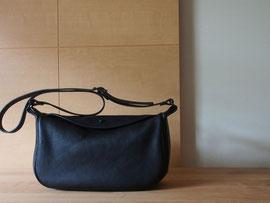 京都のバッグメーカー 革や帆布製のかばん・小物 レザーバッグ ショルダーバッグ(ネロ)