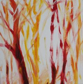 Gegenlicht, Acryl, 30x30, 2012