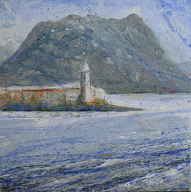 Isola Pescatori, 80x80, Acryl, 2016