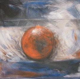 Kugel, Acryl, 60x60, 2009