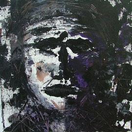 Selbstbild, Acryl, 30x30, 2013