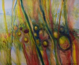 Fränkischer Sommer, 100x120, Acryl, 2000