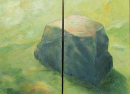 Monolith, 120x160, Acryk, 2014