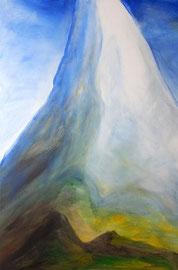 Berg 2, Acryl, 90x120, 2010