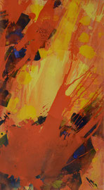 Explosion | 180 x 100 cm
