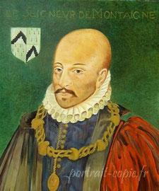 reproduction de tableau peint d'après photo