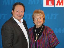 Dittmar Lemke und Barbara Ahrons.