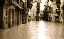 Потоп Валенсия Испания 1957