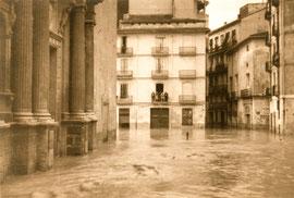 Потоп Валенсия Испания 1957 район Кармен