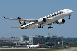 Airbus A350-900 - Singapore Airlines