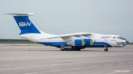 Illjuschin IL-76 TD-90 - Silkway Airlines