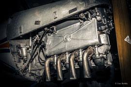 Zündapp 9-092 (1938), luftgekühlter 4-Zylinder-Reihenmotor, Hubraum 2,0 Liter. Einsatz u. a. im LF1 Zaunkönig und Bücker Bü 180 Student.