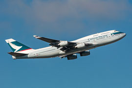 Boeing 747-400 - Cathay Pacific