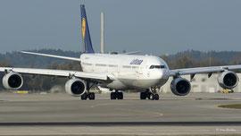 Airbus A340-600 - Lufthansa